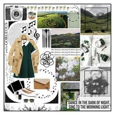 """she dances among broken glass"" by holly-elizabeth ❤ liked on Polyvore featuring Camp, Burberry, Monki, Polaroid, Henri Bendel, Chloé, Illamasqua, Chanel, Butter London and Ray-Ban"