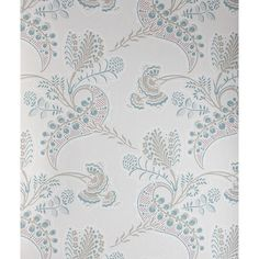 Cole & Son Wallpaper Hartford Wallpaper (6.515 RUB) ❤ liked on Polyvore featuring home, home decor, wallpaper, cole son wallpaper, floral wallpaper, pattern wallpaper, floral home decor and floral pattern wallpaper