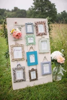 New vintage wedding seating plan ideas gold frames ideas Wedding Table Seating, Wedding Table Names, Wedding Frames, Diy Wedding, Rustic Wedding, Wedding Ideas, Wedding Pastel, Trendy Wedding, Wedding Colors