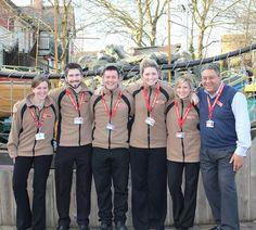 Staff at #Chessington Worlds of Adventure. #cwoa #merlin