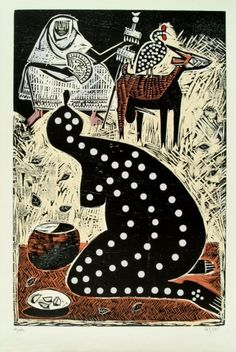 Carybé - Imagem para Sonhar African Mythology, Rainbow Serpent, Esoteric Art, Arte Tribal, Yoruba, Africa Art, Arte Popular, Outsider Art, Gravure