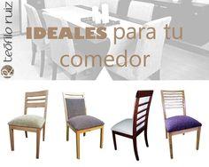 Teofilo Ruiz | Seguimos tomando pedidos! Hacemos muebles de diseño a medida y te asesoramos en lo que necesites para que tus espacios sean hermosos. ❤️❤️❤️  Visitanos en fabrica: Luzuriaga 983, Tablada, La Matanza, Bs As. o en nuestro renovado website wwww.teofiloruiz.com.ar  #mesa #silla #comedor #madera #deco #home #decoraciondeinteriores #tapizado #tela #SS2018