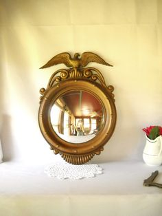 federal style mirror...just found a small littel one...would love a giant one!