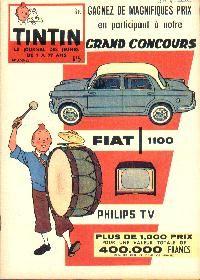Journal de TINTIN édition Belge N° 5 du 4 Février 1959 Grand concours