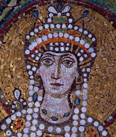 Teodora, Basilica di San Vitale, 547, Ravenna