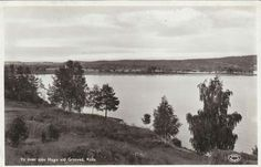 Värmland Eda kommun Vy över sjön Hugn vid Grytved, Köla.