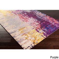 Hand-tufted Lucas Abstract New Zealand Wool Area Rug (5'3) - Overstock