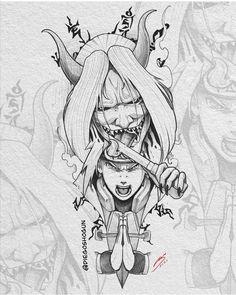 Anime Naruto, Naruto Fan Art, Naruto Shippuden Anime, Manga Tattoo, Naruto Tattoo, Anime Tattoos, Japanese Tattoo Art, Japanese Tattoo Designs, Dark Art Drawings