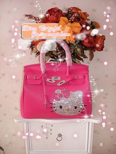 Pink Hello Kitty!