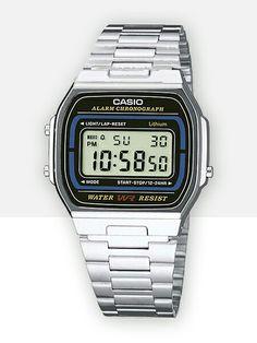 Casio vintage silver