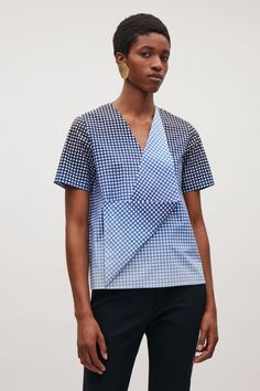 COS | Draped front top