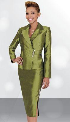 SA78445 - $119  #Green #Suit #Embellished #LongSleeve #Dress #Stacy Adams