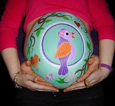 Super cute maternity belly
