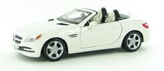 Maisto Special Edition - Mercedes Benz SLK - Class Model Car 1:24 - White (31206)  Manufacturer: Maisto Enarxis Code: 018056 #toys #Maisto #miniature #cars #Mercedes #SLK