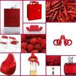 Cromoterapia: il rosso!