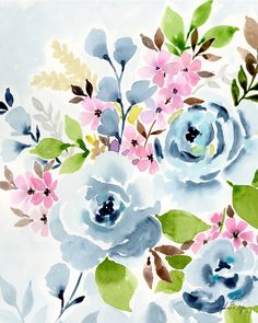 Blue Bouquet - Stephanie Ryan