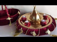 kına tepsisi yapımı - YouTube Fun Bridal Shower Games, Bridal Shower Gifts, Wedding Gift Wrapping, Wedding Boxes, Wedding Crafts, Wedding Decorations, Thermocol Craft, Ramadan Decoration, Turkish Wedding
