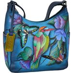 Anuschka™ is a unique creation that blends art and functionality with élan. Anuschka is the premier, original hand painted leather brand available at select boutiques across the world.