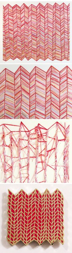 Needlework by Emily Barletta #crafts #needlework #stitch