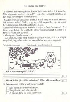 Szövegértés gyakorlásához feladatlapok, 2. osztály - kossuthsuli.lapunk.hu Art For Kids, Album, Teaching, Education, Memes, School, Ideas, Art For Toddlers, Art Kids