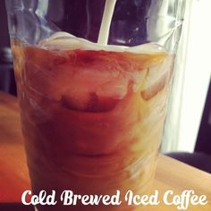 This is glorious on a hot summer's day! Cold Brew Iced Coffee, How To Make Ice Coffee, Espresso Maker, Ketchup, Coffee Cups, Brewing, Treats, Cooking, Hot