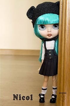 Ooak custom blythe doll -- NICOL-- by Heniferu
