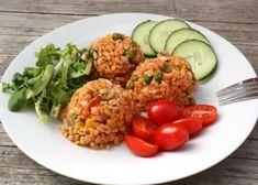 Zeleninové rizoto s celozrnou ryžou - recept Fried Rice, Fries, Food And Drink, Ale, Menu, Cooking Recipes, Chicken, Ethnic Recipes, Fitness