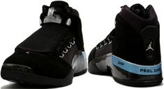 meet f6cf3 e2841 Air Jordan 17 (XVII) Retro Black   Metallic Silver Countdown Pack