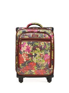 Stand out in baggage claim with our rolling carry on. Our artist prints and cute crochet details are sure to make you the talk of taxi line.