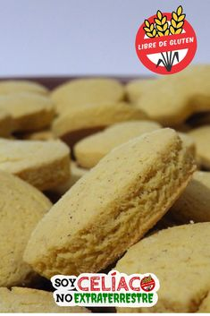 Aprende cómo hacer estas galletas sin gluten con harina de maíz | #sintacc #singluten #galletas #cookies #glutenfree #glutenfrerecipes #food Healthy Desserts, Raw Food Recipes, Baking Recipes, Cookie Recipes, Dessert Recipes, Healthy Recipes, Gluten Free Sweets, Vegan Gluten Free, Gluten Free Recipes