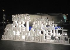 Exhibition Booth Design, Exhibition Display, Chanel Art, Pop Up, 3d Typography, Cultural Events, Event Marketing, Environmental Design, Stand Design