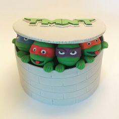 #Ninja Turtles Fondant Cake Topper