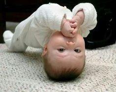 Baby  hahaha strong neck/headed baby
