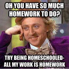 Homeschool homework