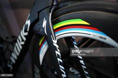 Detail veiws of the bicycle of Peter Sagan of Slovakia riding for Borahansgrohe during stage one of the AMGEN Tour of California on May 14 2017 in...