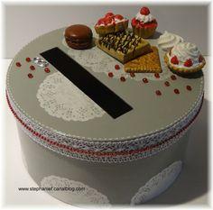 Marque place porte nom ou porte prix cupcake for Table theme gourmandise