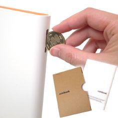 Coin Book -本型貯金箱-