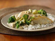 Cheesy Chicken and Broccoli Bake recipe from Betty Crocker