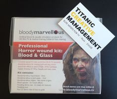 We have added some great new items to our store, including bloodymarvellous Horror Wound Kits, a whole range of face painting brushes and more