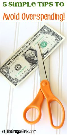 5 Simple Tips to Help You Avoid Overspending and Save Money This Year! ~ at TheFrugalGirls.com #finance #thefrugalgirls