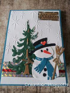 CreAnita: kerstkaart week 52 Christmas Wood Crafts, Handmade Christmas, Christmas Crafts, Christmas Ornaments, Christmas Cards 2018, Holiday Cards, Holiday Decor, Marianne Design, Father Christmas