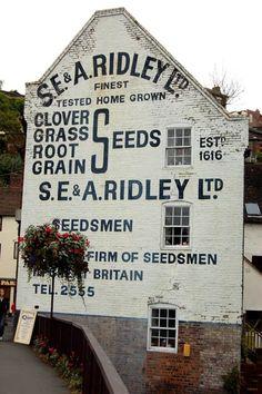 Brand: S.E. & A. Ridley Product: Feed Location: Bridge Street, Bridgnorth, Shropshire, WV16