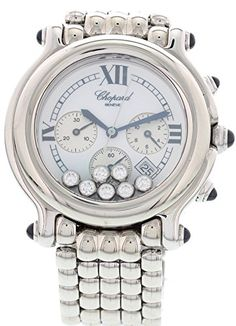 Chopard Happy Sport swissquartz white womens Watch 28826723 Certified Preowned ** Continue reading at the image link.