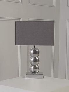 bedside lamps grey - Google Search