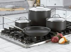 Best Value Hard Anodized Cookware Set – Cuisinart Chef's Classic 66-14 Set