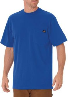 Dickies Royal Blue Short Sleeve Heavyweight Crew Neck T-Shirt
