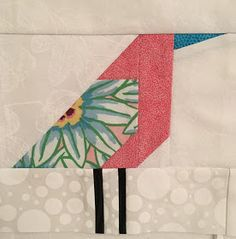 These first two were inspired by the fabrics. I don't have stories for them. Suggestions wanted! This bird could be my brother, t...
