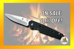 The Gerber Fine Edge Knife is on sale for $11.47!