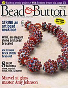 2004 - 02 - irishcrea_m - Picasa Web Albums - bead&button magazin USA Beading Patterns Free, Seed Bead Patterns, Beading Tutorials, Magazine Beads, Magazine Crafts, Beaded Jewelry Designs, Diy Jewellery, Handmade Jewelry, Beading Techniques