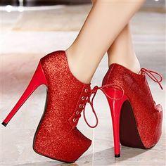 Bottines femme Rouge taille 39, achat en ligne Bottines femme sur MODATOI